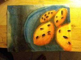 Cookies With Dry Pastels by TheFlamingSpade