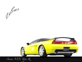 Acura NSX Type R by Zelras