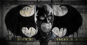 Five Dollar Batman by TylerDobbs