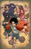Mark Brooks' Samurai Champloo by MonkeySeed