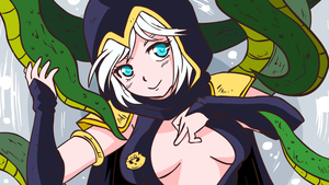 ASHE WANTS TENTACLES by Hir0