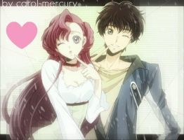 LOVE ID  euphemia and suzaku by carol-mercury