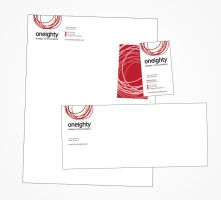 Oneighty Letterhead Set by mooseinthejacket