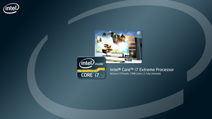 Intel Core i7 Extreme Edition 2nd Gen Wallpaper by AndreTM