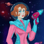 Space Babe by TheSpaceBabe