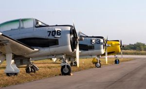 T28s Lined Up by BillH-Photo