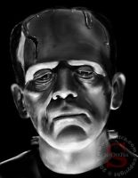 The Frankenstein Monster by ScOttRa