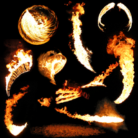 Transparent Flames Pack 1 by da-joint-stock