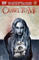 Crawl to me 2 IDW by menton3