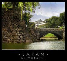 Japan - Nijyubashi by dark-spider