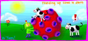 prince and cows...KATAMARI by frighteningdeceit