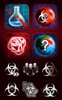 Plague Inc Icons by cilein