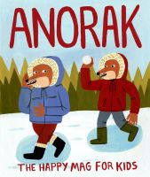 Anorak Magazine Winter Cover by Teagle