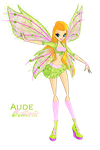 Winx: Aude Believix by DragonShinyFlame