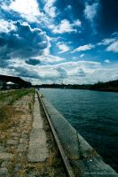 inner harbour of Luebeck by antarialus