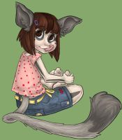 Hiccups: Toddler Sabina by ph00