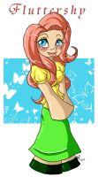 MLP: Gumby Fluttershy by Miss-Mae