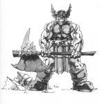 Barbarian Inked by PatC-14