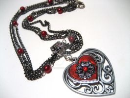 A Vampire's Love - Necklace by nightsrequiem