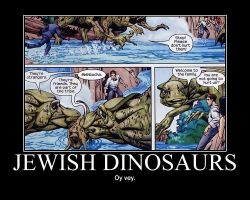 Motivation - Jewish Dinosaurs by Songue