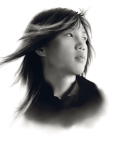 Wonbin: realism attempt by MiPun