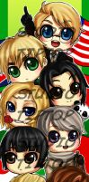 Hetalia Bookmark by StudioTipTop