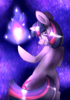 Magic User: Twilight Sparkle by Lizzyoli-Ravioli