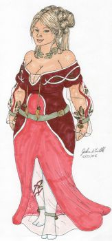 Dress Design 454 Christmas Special by Tribble-Industries