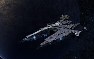 Thylacene Class Star Destroyer by the-least