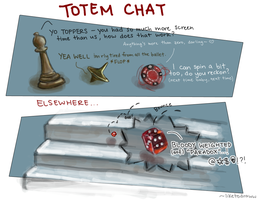 Totem Chat by liketodraww
