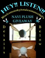 Navi Plushie Giveaway! by totalexistancefail