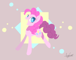 Pinkie Pie  OwO by PegaSisters82