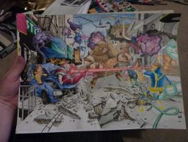 X-Men panorama pic - WIP by dsb