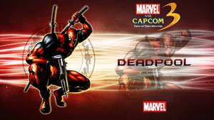 Marvel VS Capcom 3 Deadpool by CrossDominatriX5
