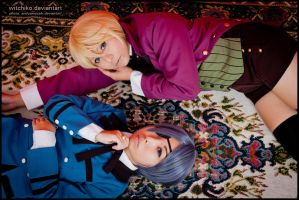 Alois and Ciel:::::: by Witchiko