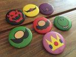 Super Mario Bros. Button Set by raesquared