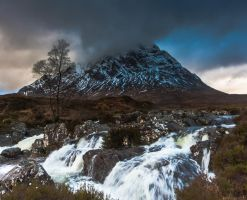 Stob Dearg and River Etive by Sagereid