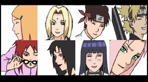 Naruto Girls Avatars by NarutoSecretHope