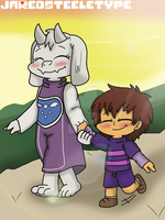 Undertale: I wanna stay with you. by JaredSteeleType