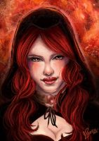 Melisandre: The night is dark and full of terrors by Atramina