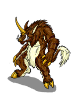 Primal Rage Contest-Kigas by Scatha-the-Worm