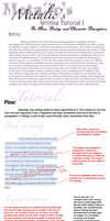 Writing Tutorial Part 1 by MetalicX