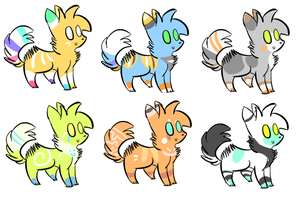Adopts for Echofreeze by alfvie