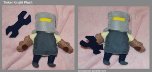 Tinker Knight Plush by DonutTyphoon