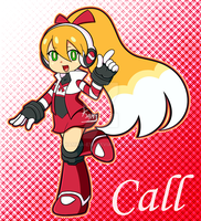 Mighty No. 9 - Call by Kamira-Exe