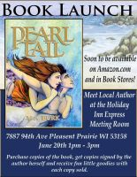 PEARLTAIL BOOK LAUNCH! (Flyer) by Loor101