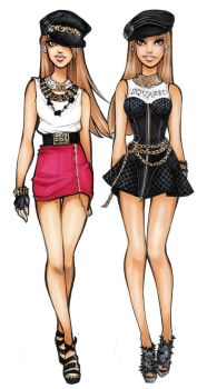 Dsquared2 spring 2013 by Nina-D-Lux