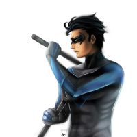 Nightwing by annaoi
