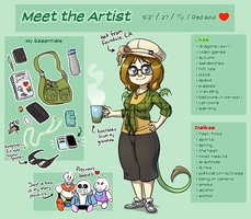 Meet the Artist by EarthGwee
