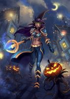 WoW halloween 2015 by RinaCane